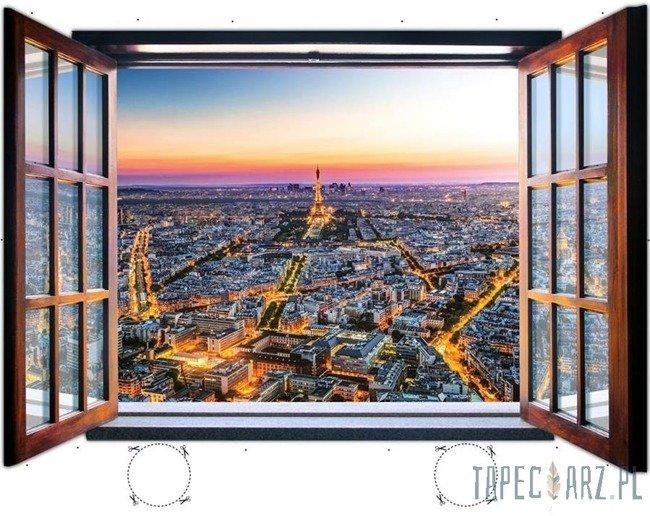 Fototapeta na flizelinie Paryż przez otwarte okno 1934