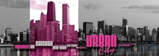 Fototapeta na flizelinie Urban City 1496VEE