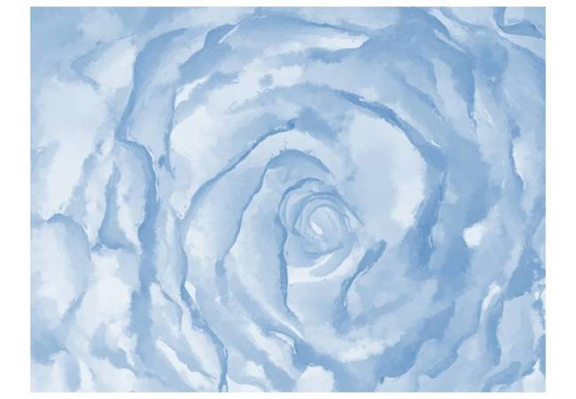 Fototapeta - róża (niebieski)
