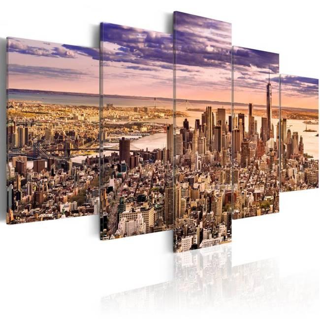 Obraz - Bezsenność w Nowym Jorku