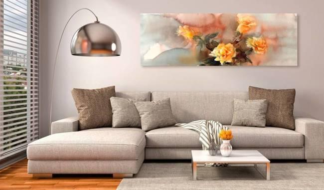 Obraz - Bukiet żółtych róż