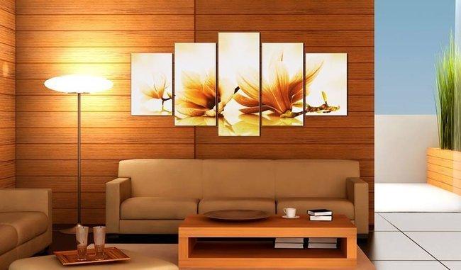 Obraz - Bursztynowe magnolie