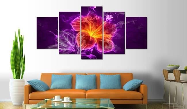Obraz - Ezoteryczny kwiat