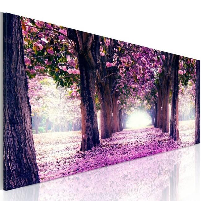 Obraz - Fioletowa wiosna
