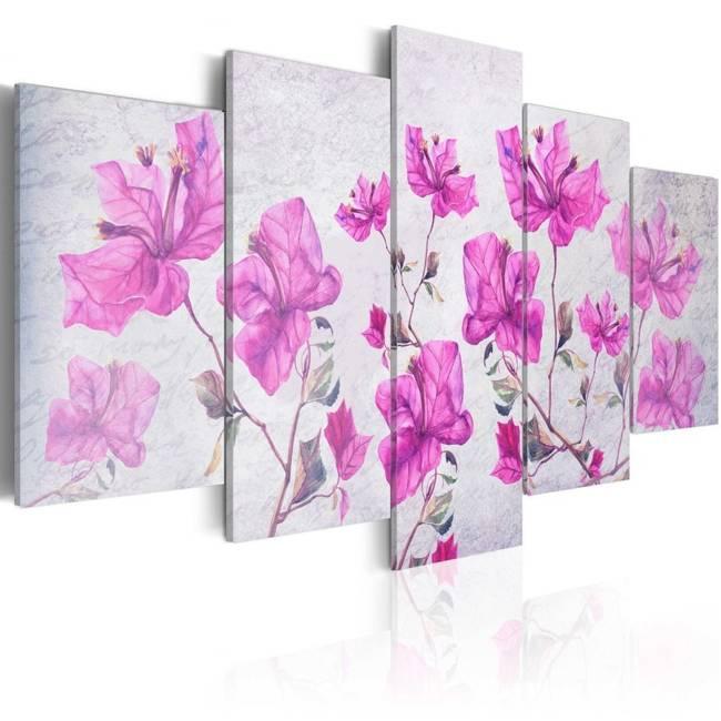 Obraz - Fioletowe kwiaty