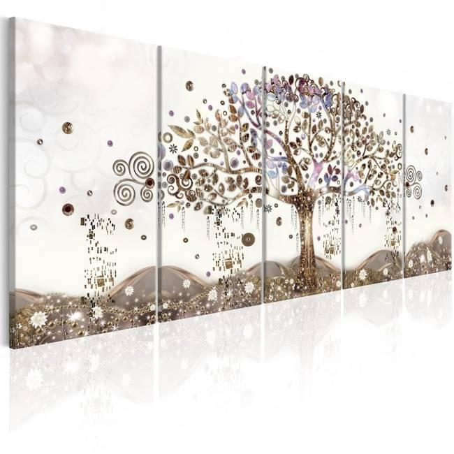 Obraz - Geometryczne drzewo