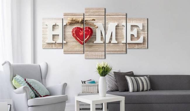 Obraz - Home: Dom miłości