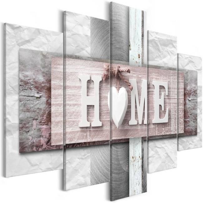 Obraz - Home: Eklektyzm (5-częściowy) szeroki