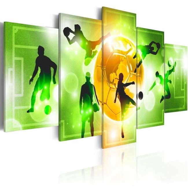Obraz - Kocham piłkę nożną