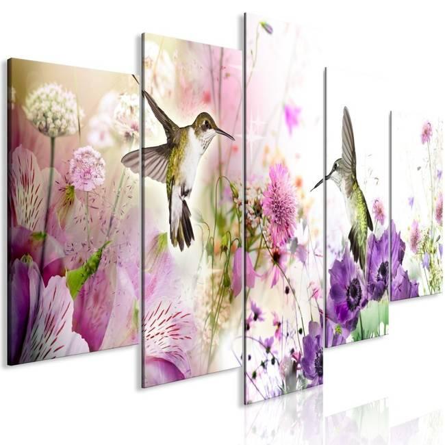 Obraz - Kolorowa natura (5-częściowy) szeroki