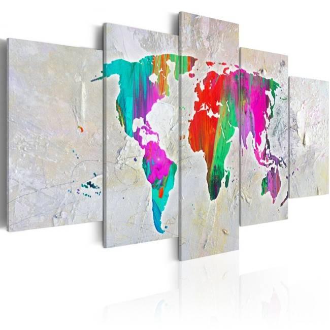 Obraz - Kolorowa planeta