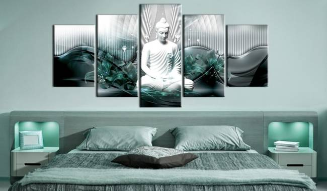 Obraz - Lazurowa medytacja