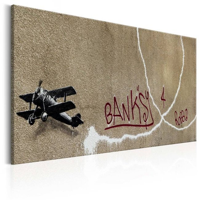Obraz - Love Plane by Banksy