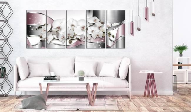 Obraz - Lśniące orchidee