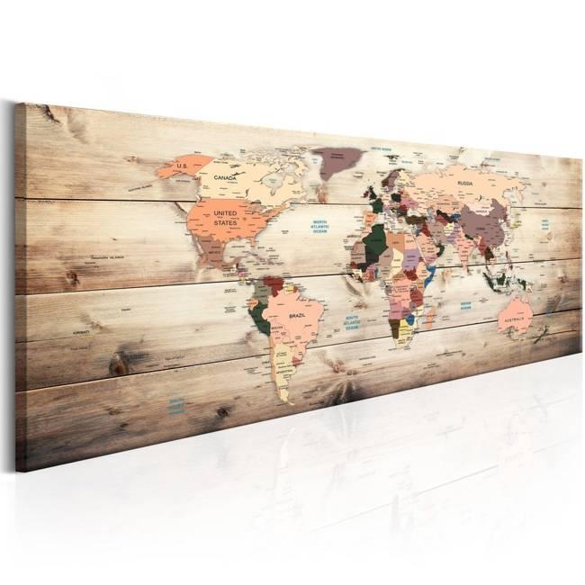 Obraz - Mapy świata: Mapa marzeń