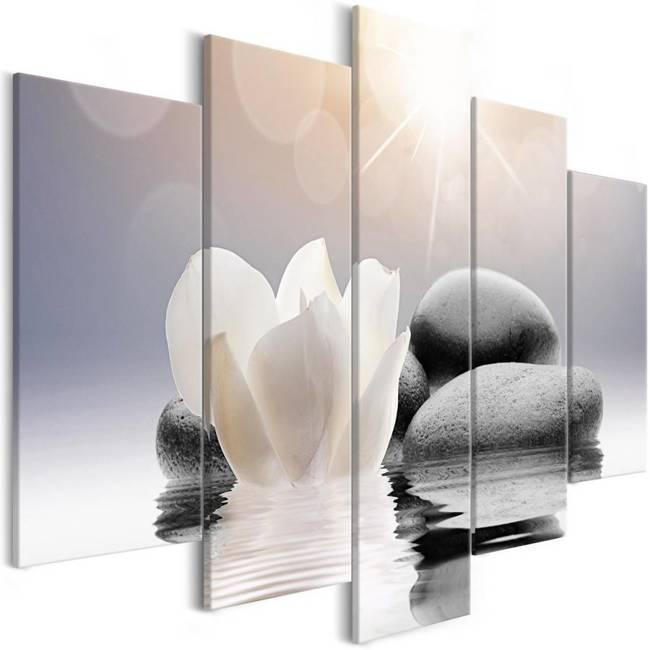 Obraz - Naturalna lekkość (5-częściowy) szeroki
