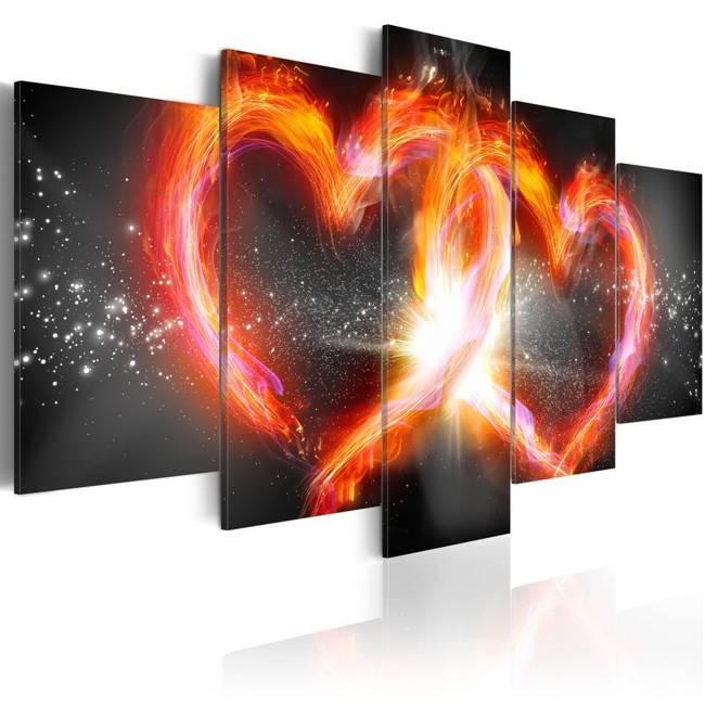 Obraz - Płomień miłości