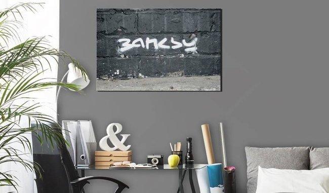 Obraz - Podpis Banksy'ego
