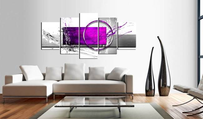 Obraz - Purpurowa ekspresja