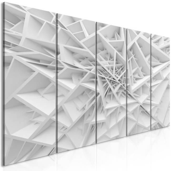 Obraz - Skomplikowana geometria (5-częściowy) wąski