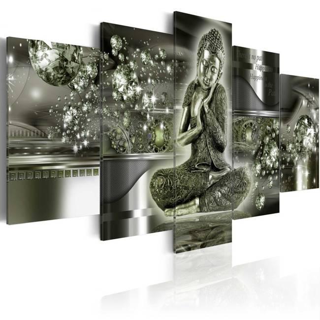 Obraz - Szmaragdowy Budda
