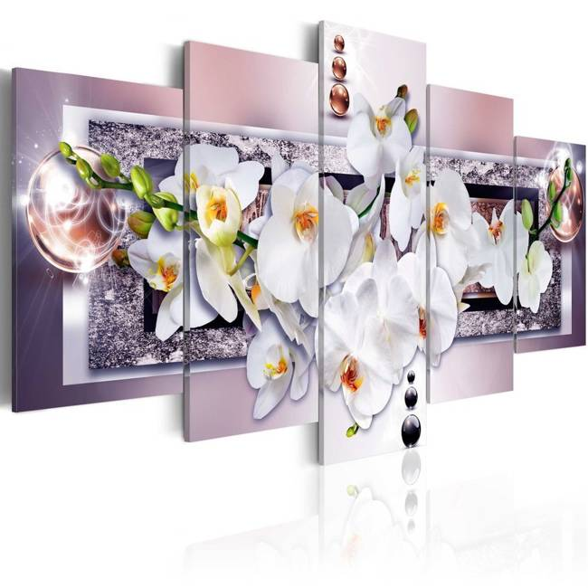 Obraz - Tajemnicza orchidea