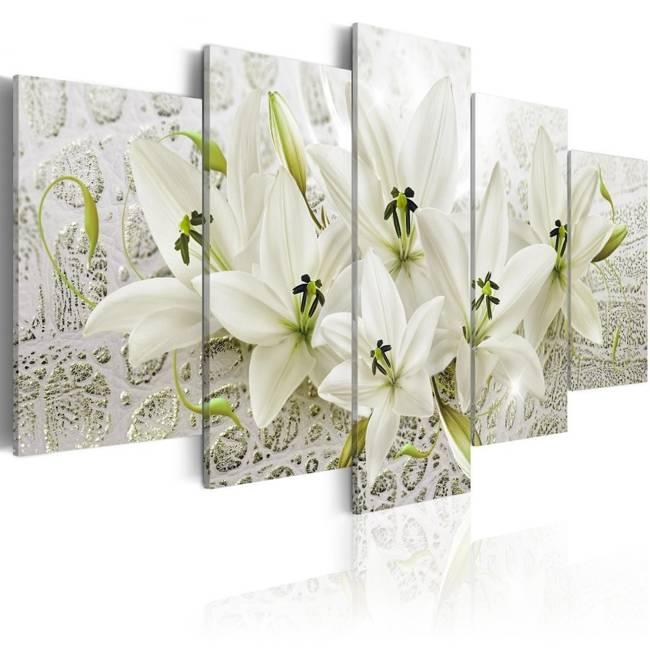 Obraz - Unikatowe kwiaty