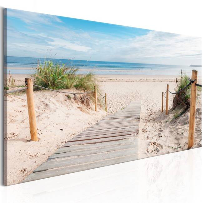 Obraz - Zachwycająca plaża