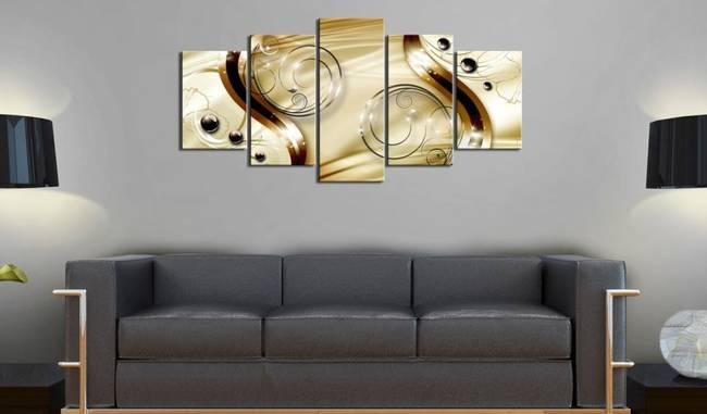 Obraz - Złota nimfa