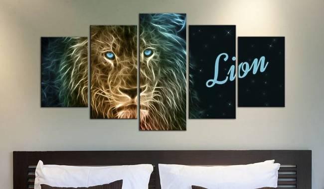 Obraz - Złoty lew