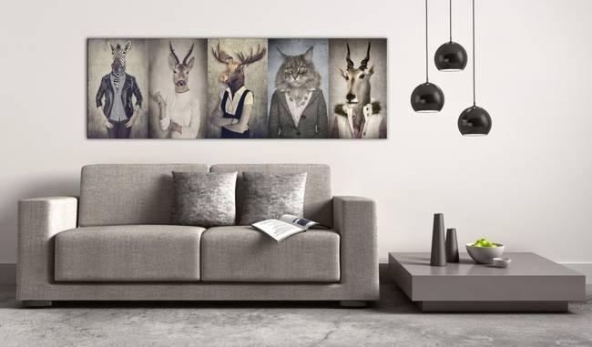 Obraz - Zwierzęce maski