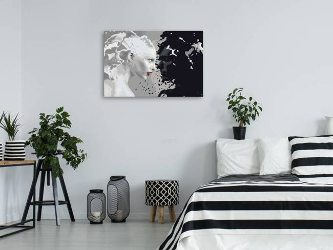 Obraz do samodzielnego malowania - Black & White