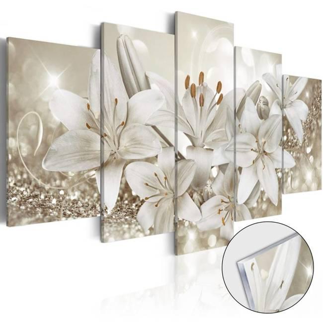 Obraz na szkle akrylowym - Królowa zimy [Glass]