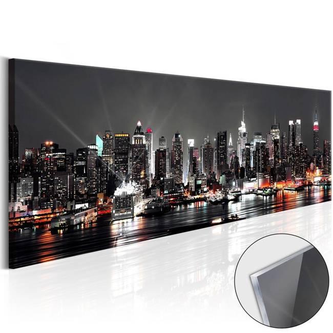 Obraz na szkle akrylowym - Nowojorski sen [Glass]