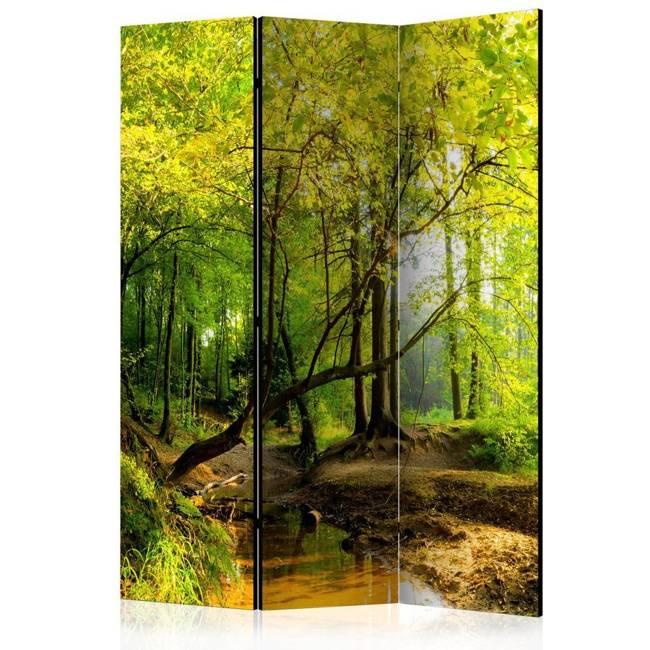 Parawan 3-częściowy - Leśna polana [Room Dividers]