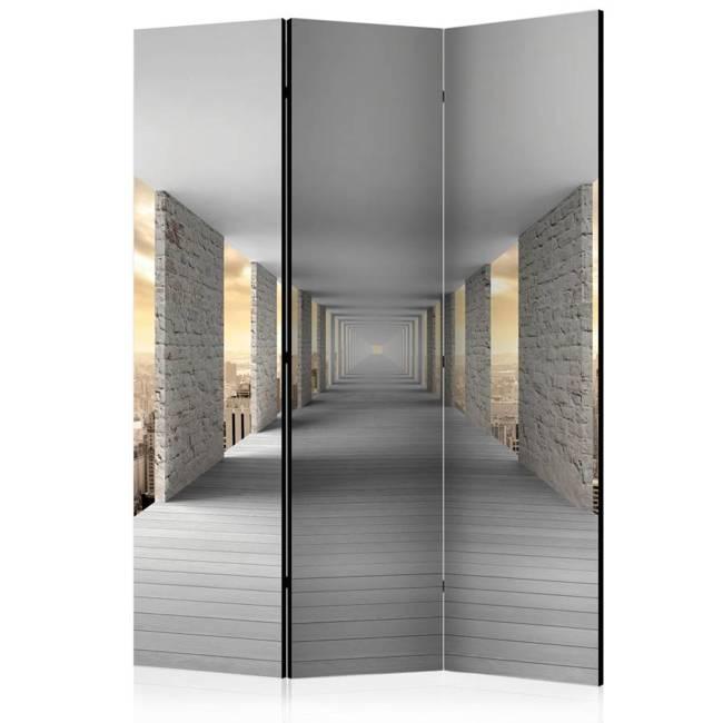 Parawan 3-częściowy - Podniebny korytarz [Room Dividers]