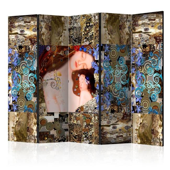 Parawan 5-częściowy - Matczyny uścisk II [Room Dividers]