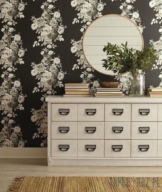 Tapeta ścienna York Wallcoverings ME1533 Magnolia Home 2