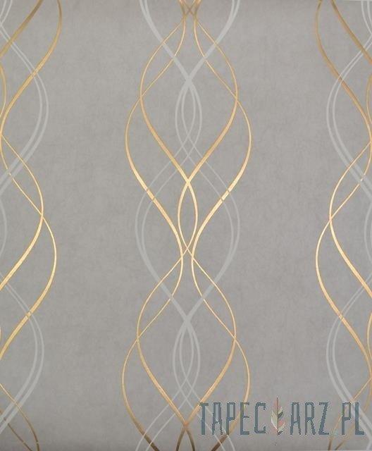 Tapeta ścienna York Wallcoverings NW3550 Modern Metals