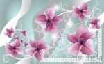 Fototapeta Różowe kwiaty 1233