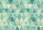 Fototapeta Turkusowe trójkąty 10633