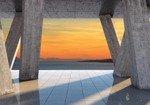 Fototapeta Widok na zachód słońca 3645