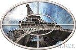 Fototapeta na flizelinie Wieża Eiffla - okno 921