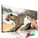 Obraz do samodzielnego malowania - Gepard